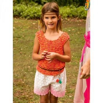 Burda Style | Girl's Lace Shorts 07/2013 #141