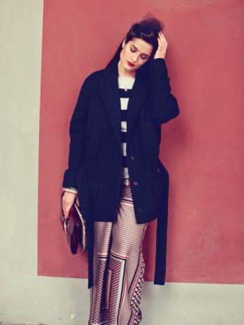 Burda Style | Flap Jacket (plus-size) 08/2013 #135
