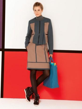 Burda Style | Geometric Skirt 08/2013 #132