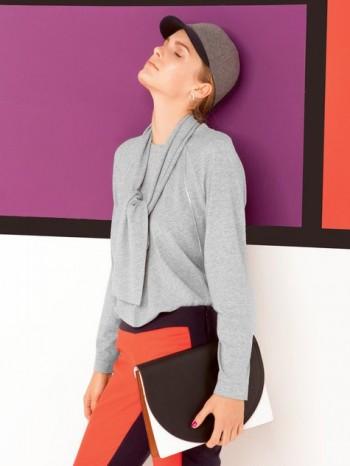 Burda Style | Scarf Shirt 08/2013 #131