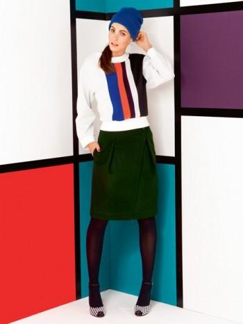 Burda Style | Overlap Skirt 08/2013 #130