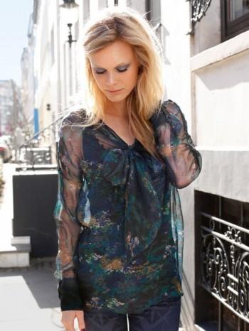 Burda Style | Chiffon Blouse 08/2013 #119