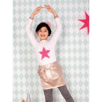 Burda Style | Girl's Pleated Skirt 08/2013 #148
