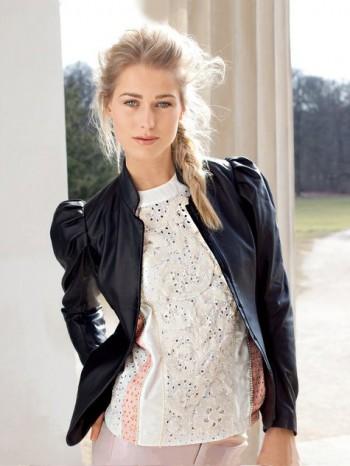 Burda Style | Puff-sleeve Jacket (Petite-Size) 08/2013 #113