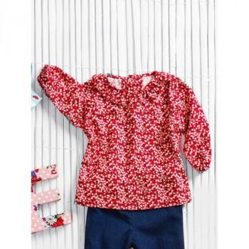 Burda Style | Baby's Ruffle Top 09/2013 #146