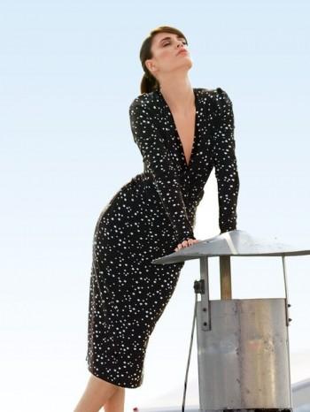 Burda Style | Knotted Dress 09/2013 #101B