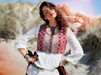 Burda Style | Folk Blouse (Plus-Size) 09/2013 #134