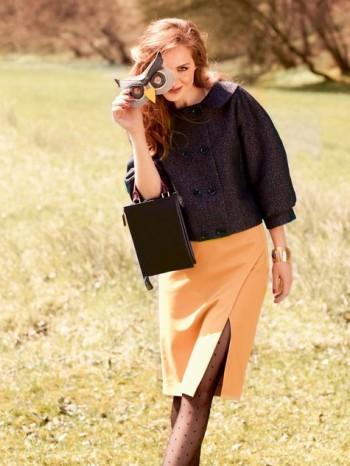 Burda Style | Slit Skirt 09/2013 #105A