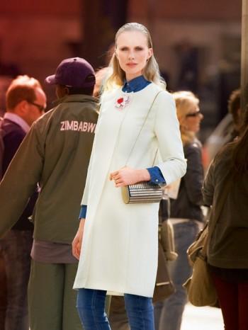 Burda Style | Straight Coat 09/2013 #125
