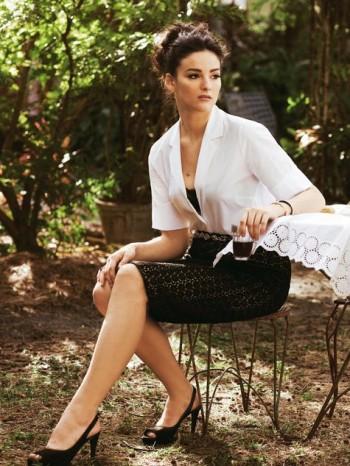 Burda Style | Straight Lace Skirt (plus-size) 05/2012 #136