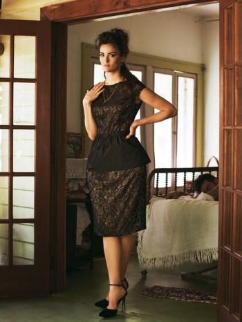 Burda Style   Dress with Removable Peplum (plus-size) 05/2012 #140