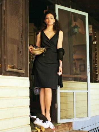 Burda Style | Faux Wrap Dress (plus-size) 05/2012 #141