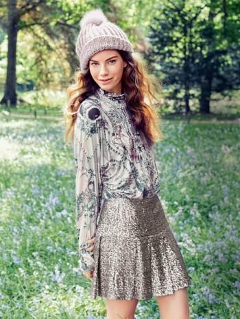 Burda Style | Pleated Mini Skirt 10/2013 #120