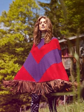 Burda Style | Chevron Poncho 10/2013 #116