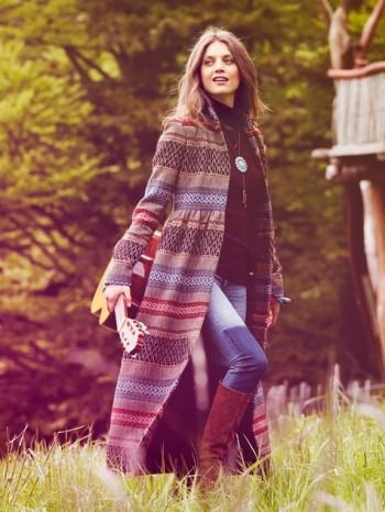 Burda Style | Maxi Coat (Petite-Size) 10/2013 #130