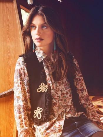 Burda Style | Folk Waistcoat 10/2013 #132