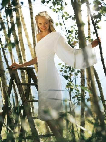 Burda Style | Ruched One Shoulder Dress 01/2012 #109