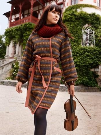 Burda Style | Sweater Coat 11/2013 #106