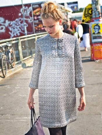 Burda Style | Silver Shirtdress 11/2013 #124