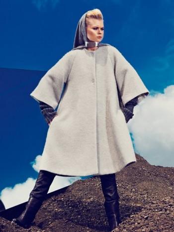 Burda Style | Bell Coat 11/2013 #116