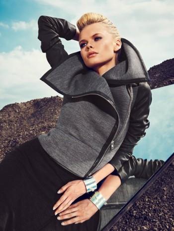 Burda Style | Asymmetrical Moto Jacket 11/2013 #117