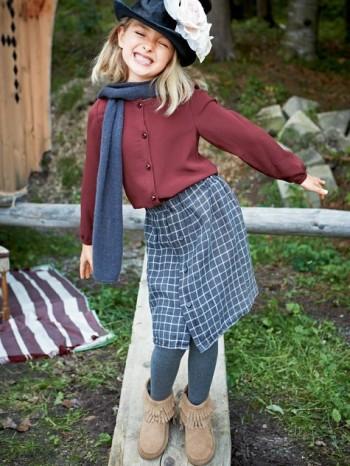 Burda Style | Flannel Skirt 11/2013 #142