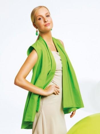 Burda Style | Cape Waistcoat 04/2012 #101B