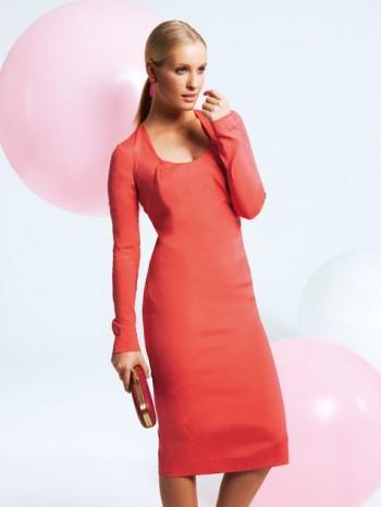 Burda Style | U Neck Dress 04/2012 #103C
