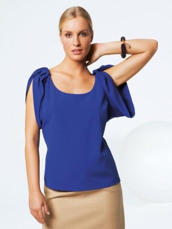 Burda Style | Gathered Sleeve Top 04/2012 #115A