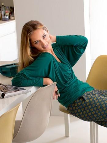Burda Style | Draped Jersey Top 12/2013 #119A
