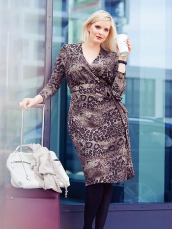 Burda Style | Wrap Dress (Plus Size) 11/2013 #134