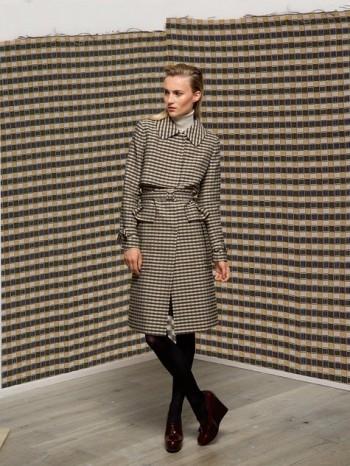 Burda Style | Jacquard Trenchcoat 12/2013 #101