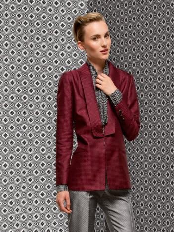 Burda Style | Blazer with Deep Lapels 12/2013 #105A
