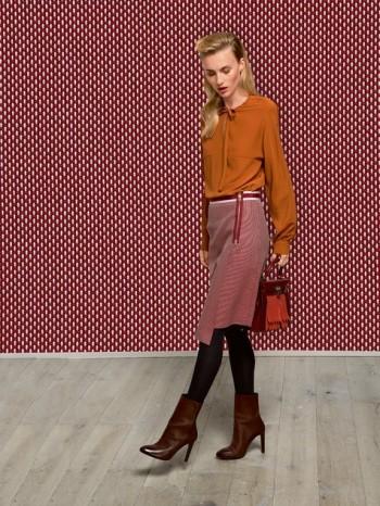 Burda Style | Asymmetrical Zipper Skirt 12/2013 #109
