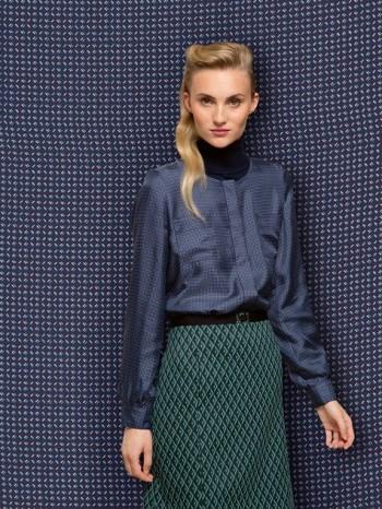Burda Style | Blouse with Hidden Closure 12/2013 #115