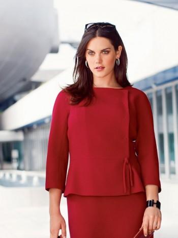 Burda Style | Tie Top (Plus Size) 12/2013 #134