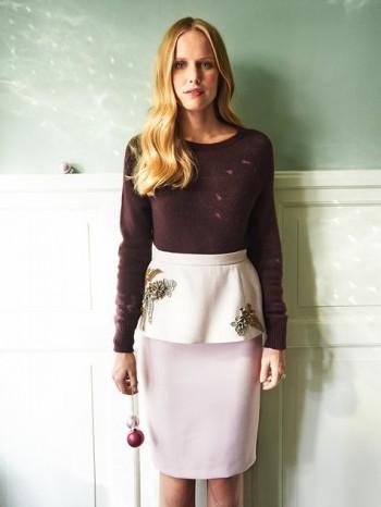 Burda Style | Peplum Skirt 12/2013 #117