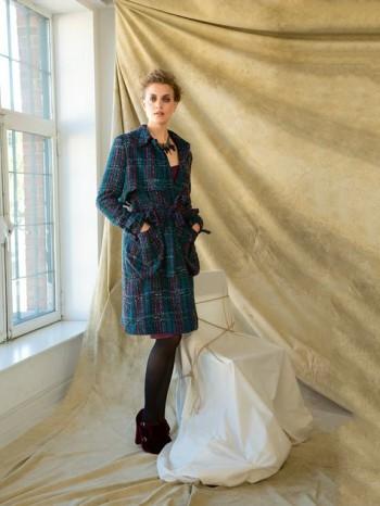 Burda Style | Boucle Coat 12/2013 #102
