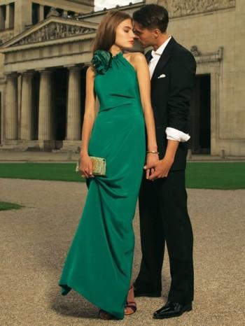 Burda Style | Rosette Gown 12/2011 #130
