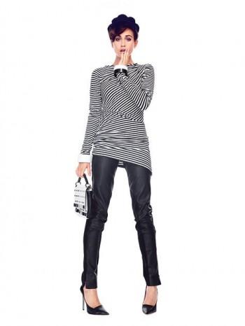 Burda Style | Leather Trousers (Petite-Size)01/2014 #111