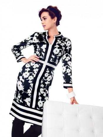Burda Style | Cross Panel Dress 01/2014 #119