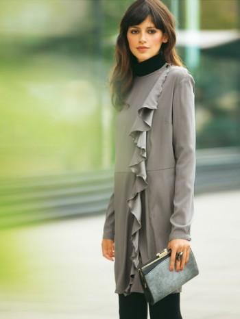 Burda Style | Ruffle Coat 12/2012 #122