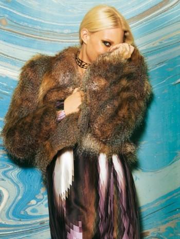 Burda Style | Fur Jacket 12/2010 #117