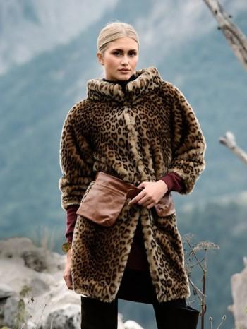 Burda Style | Leopard Fur Coat 01/2014 #104