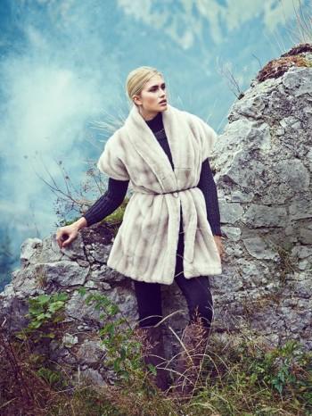 Burda Style | Faux Fur Waistcoat 01/2014 #106