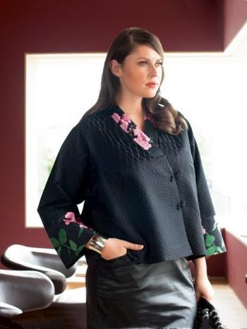 Burda Style | Zipper Jacket (Plus Size) 01/2014 #132