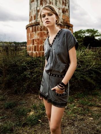 Burda Style | Safety Pin Mini Skirt 02/2014 #119