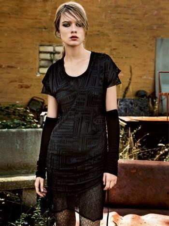 Burda Style | Layered Ruched Dress 02/2014 #123