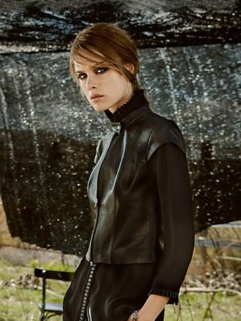 Burda Style | Leather Top (Tall-Size) 02/2014 #127