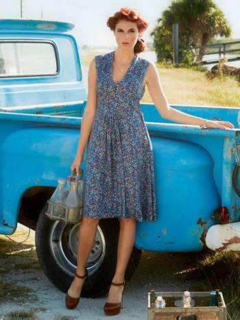 Burda Style | Bib Dress 04/2014 #120